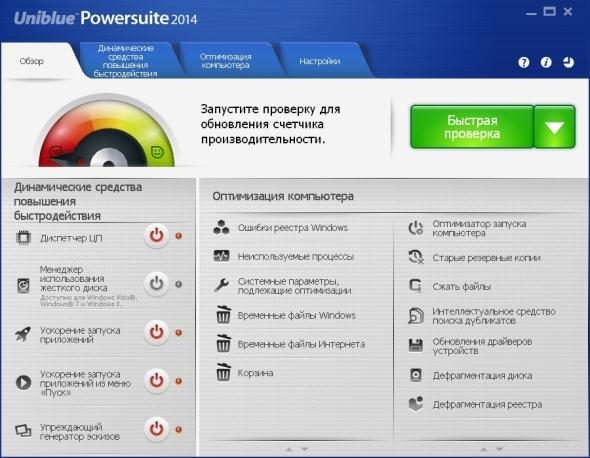Uniblue Powersuite 2018